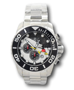Invicta Disney Limited Edition Men's 50mm Mickey Silver Chronograph Watch 32443-Klawk Watches