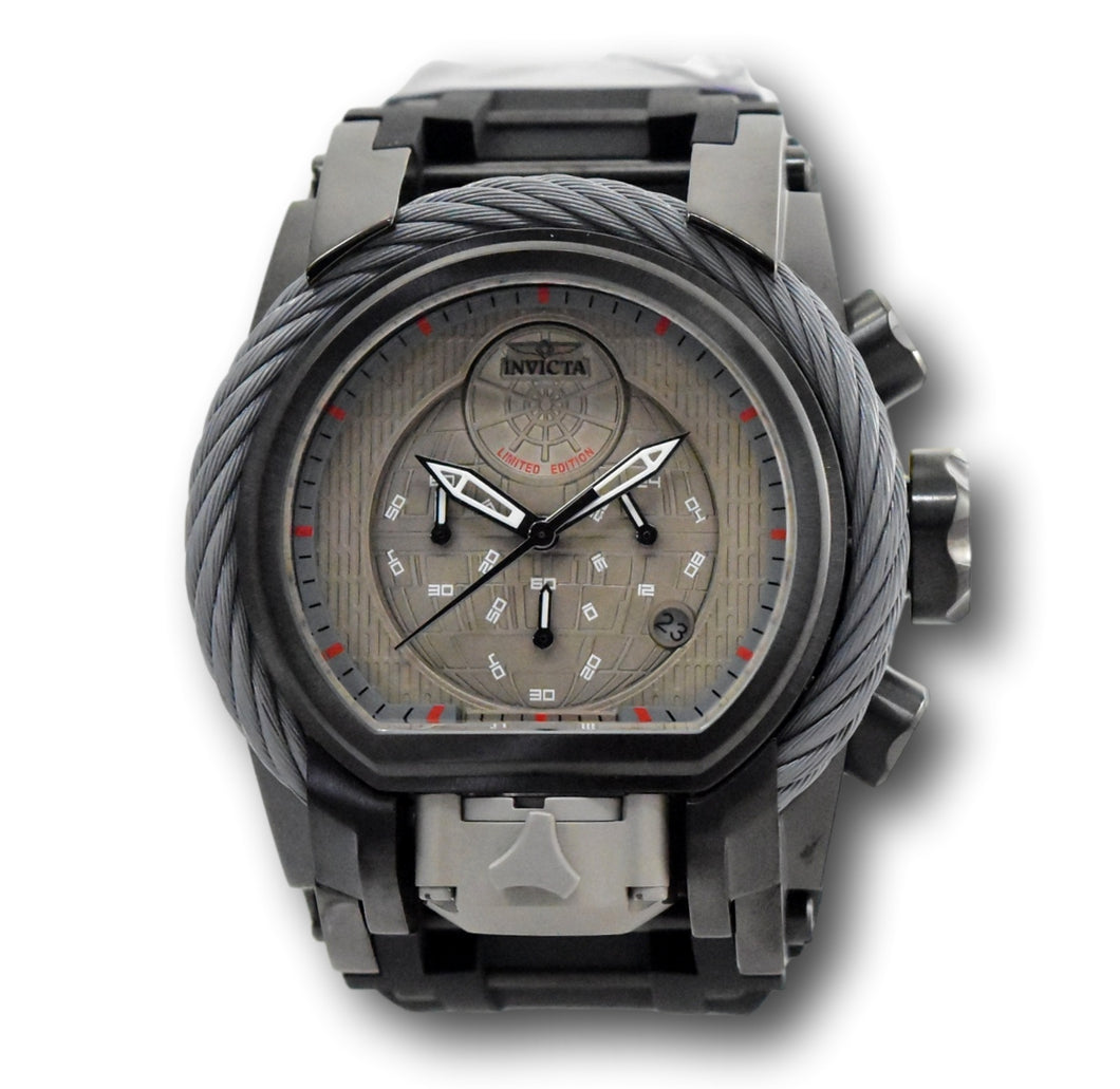 Invicta Star Wars Death Star Men's 52mm Limited Edition Dual-Time Watch 33861-Klawk Watches