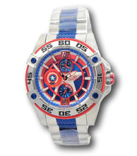 Load image into Gallery viewer, Invicta Marvel Captain America Women's 44mm Limited Ed MultiFunction Watch 27018-Klawk Watches