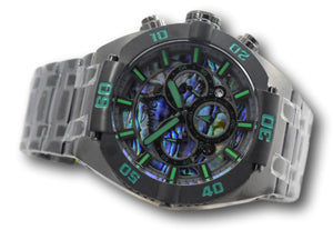Invicta Coalition Forces Men's 50mm Abalone Dial Chronograph Watch 27262 Rare-Klawk Watches