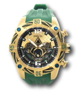 Invicta SHAQ Bolt Men's 58mm LARGE Gunmetal & Rose Swiss Chronograph Watch 33658-Klawk Watches