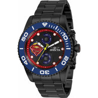 Invicta DC Comics Superman Men's 43mm Limited Edition Chronograph Watch 29065-Klawk Watches
