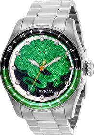 Invicta Speedway Green Dragon Automatic 28354 Men's 52mm Stainless Watch-Klawk Watches