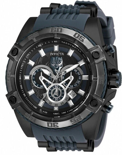Invicta Marvel Black Panther Men's 52mm Limited Edition Chronograph Watch 26802-Klawk Watches