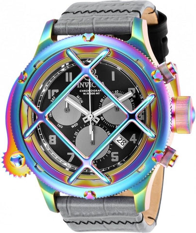 Invicta Russian Diver Nautilus 26588 Rainbow Iridescent Swiss Chronograph Watch-Klawk Watches