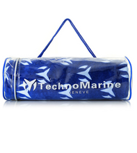 "Load image into Gallery viewer, TechnoMarine Oversized Beach Towel 72""x 40"" 100% Cotton Blue and White TM-PM-001-Klawk Watches"