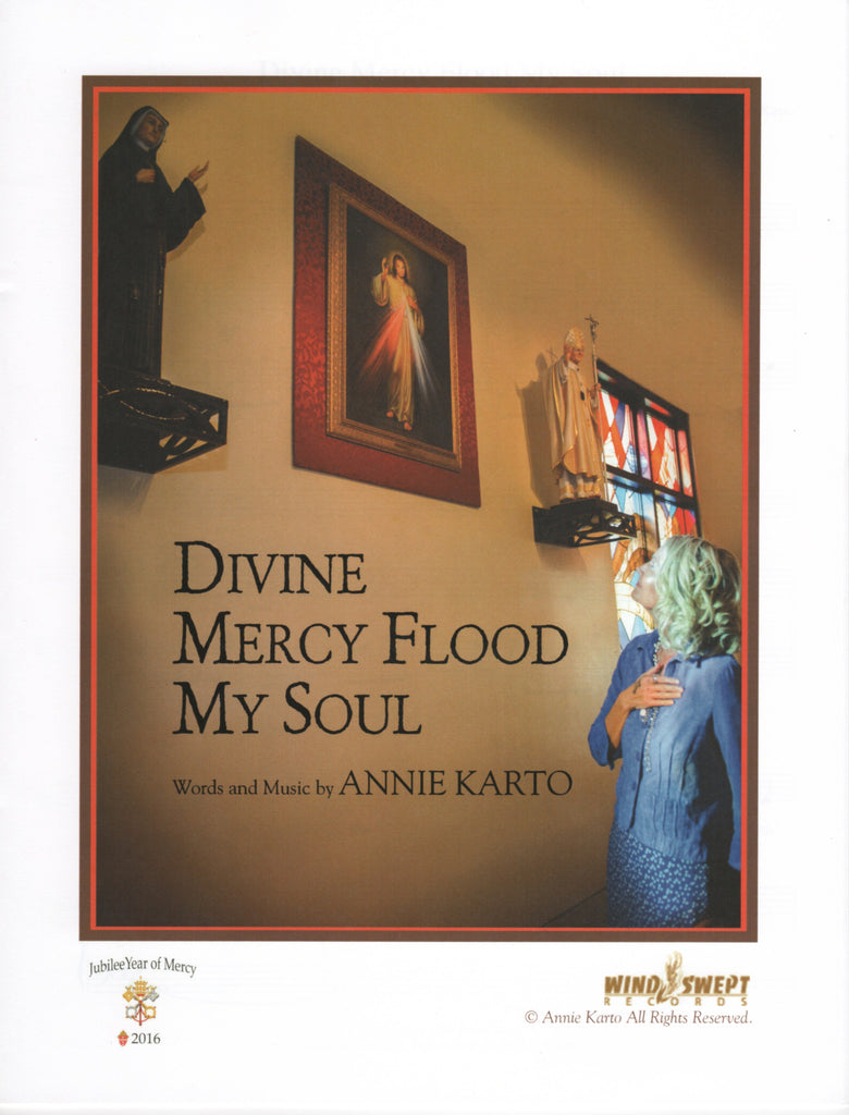 Divine Mercy Flood My Soul Sheet Music
