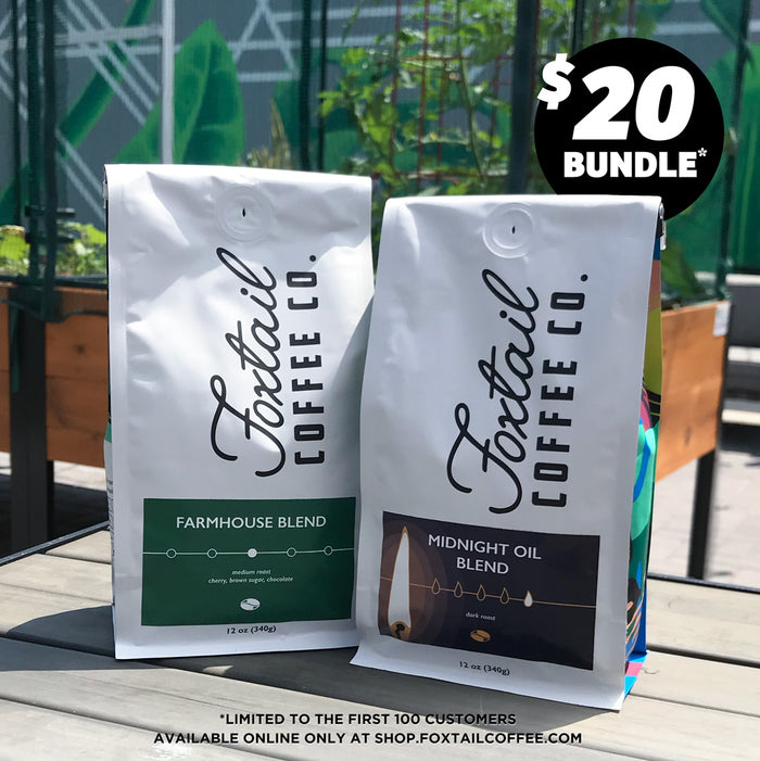 2 Bag Bundle. First 100 Customers Only
