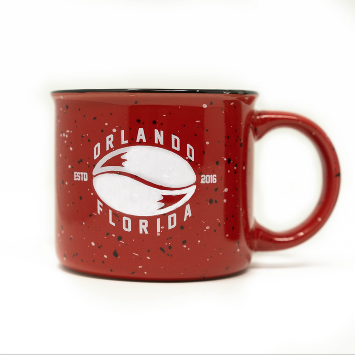 Logo Campfire Coffee Mug ( Red Color )
