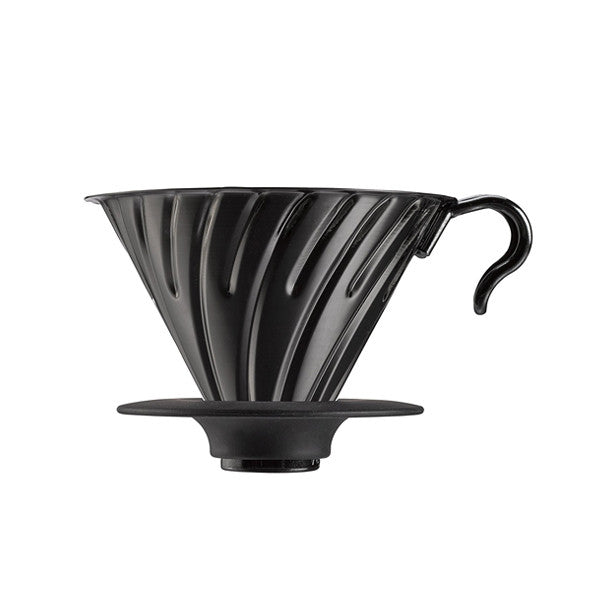 Hario V60 Metal Coffee Dripper (Size 02, Black)