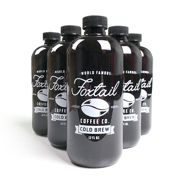 12oz Cold Brew Bottles - 6 Pack