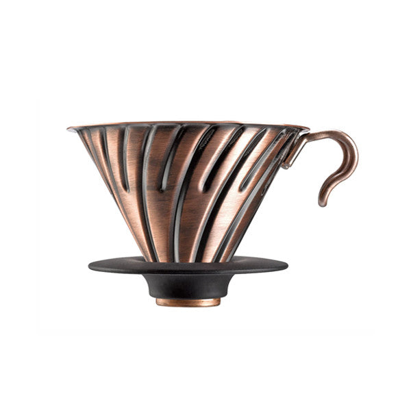 Hario V60 Metal Coffee Dripper (Size 02, Copper)
