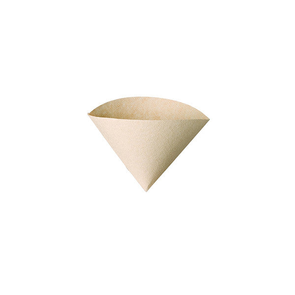 Hario Coffee Paper Filters (Size 02, 100 Sheets, Natural)