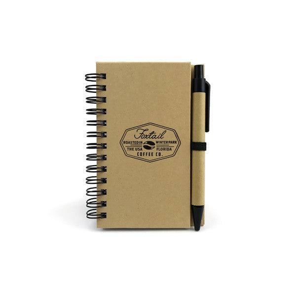 Mini Foxtail Spiral Notebook