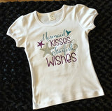 Mermaid Tank Top, Mermaid Kisses & Starfish Wishes, Ariel