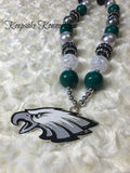 Philadelphia Eagles Chunky Necklace