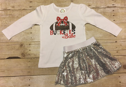 Ohio State Toddler Outfit