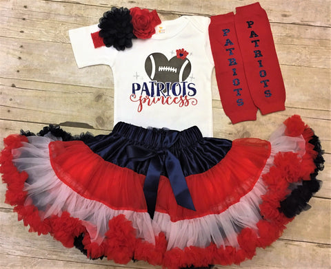 New England Patriots Princess girls