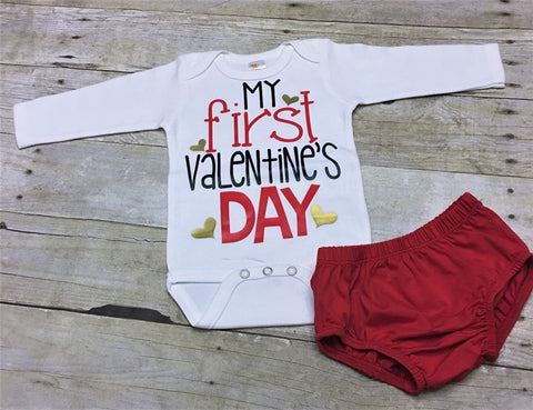 First Valentines Day Boys Outfit