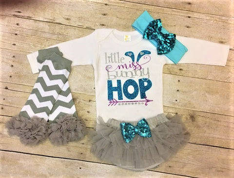 Little Miss Bunny Hop Outfit