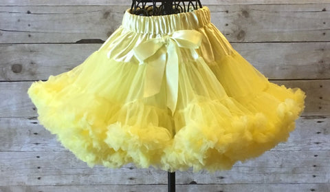 Yellow Pettiskirt