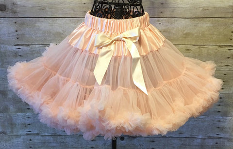 Peach Pettiskirt