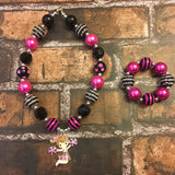 Cheerleader Chunky Necklace