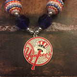 New York Yankees Chunky Necklace