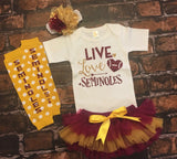 Florida State University Baby Outfit
