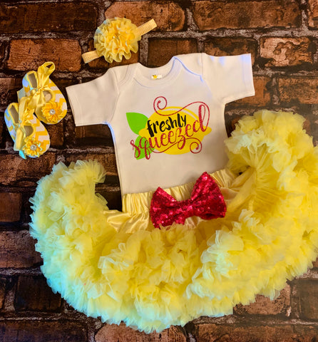 Freshly Squeezed Pettiskirt Outfit