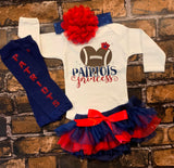 New England Patriots Baby Outfit