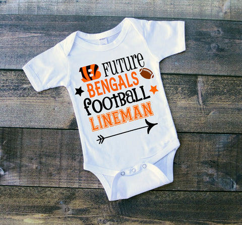 Cincinnati Bengals football shirt