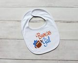 Denver Broncos Baby Girl Outfit