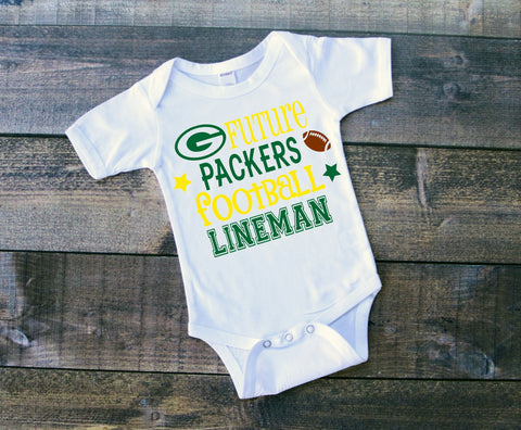 Future Packers football lineman
