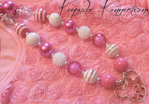 Minnie Mouse Chunky Necklace