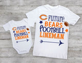 Future Bears football lineman