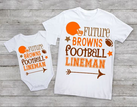 Future Browns football lineman