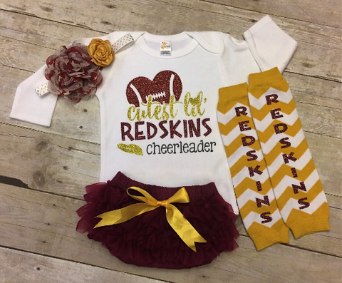 Washington Football Baby Outfit