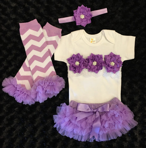 Newborn Girl Take Home Outfit / Baby Shower