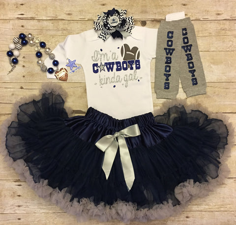 Baby Girl Dallas Cowboys Pettiskirt Outfit