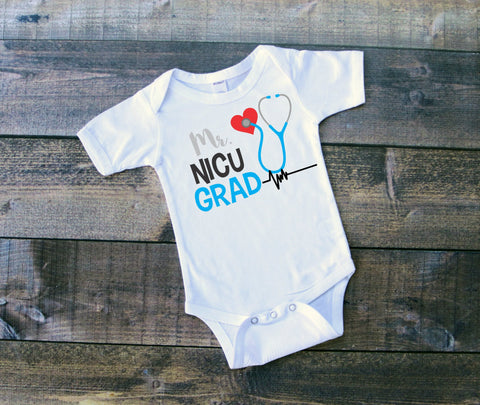 Infant NICU Graduate Boy