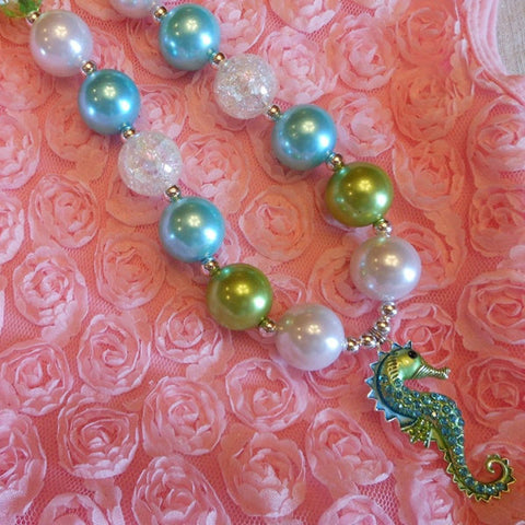 Seahorse Chunky Necklace