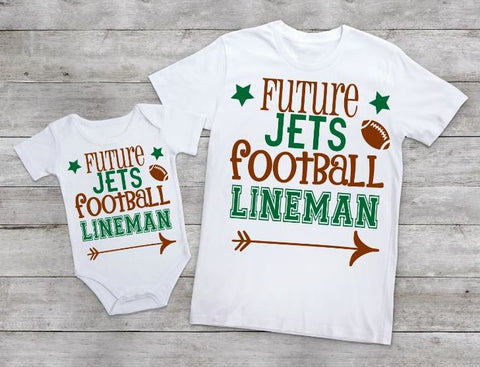 Future Jets football lineman