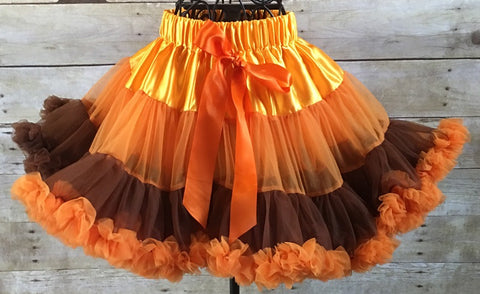 Fall or Thanksgiving Pettiskirt