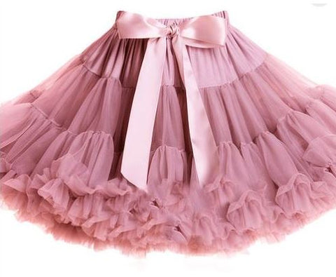 Dusty Rose Pettiskirt