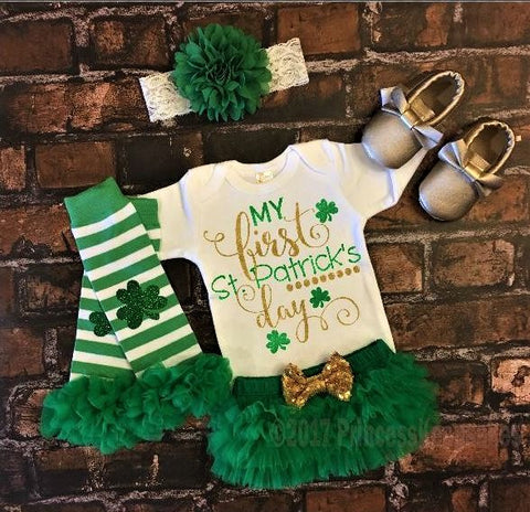 My First St Patricks Day Outfit