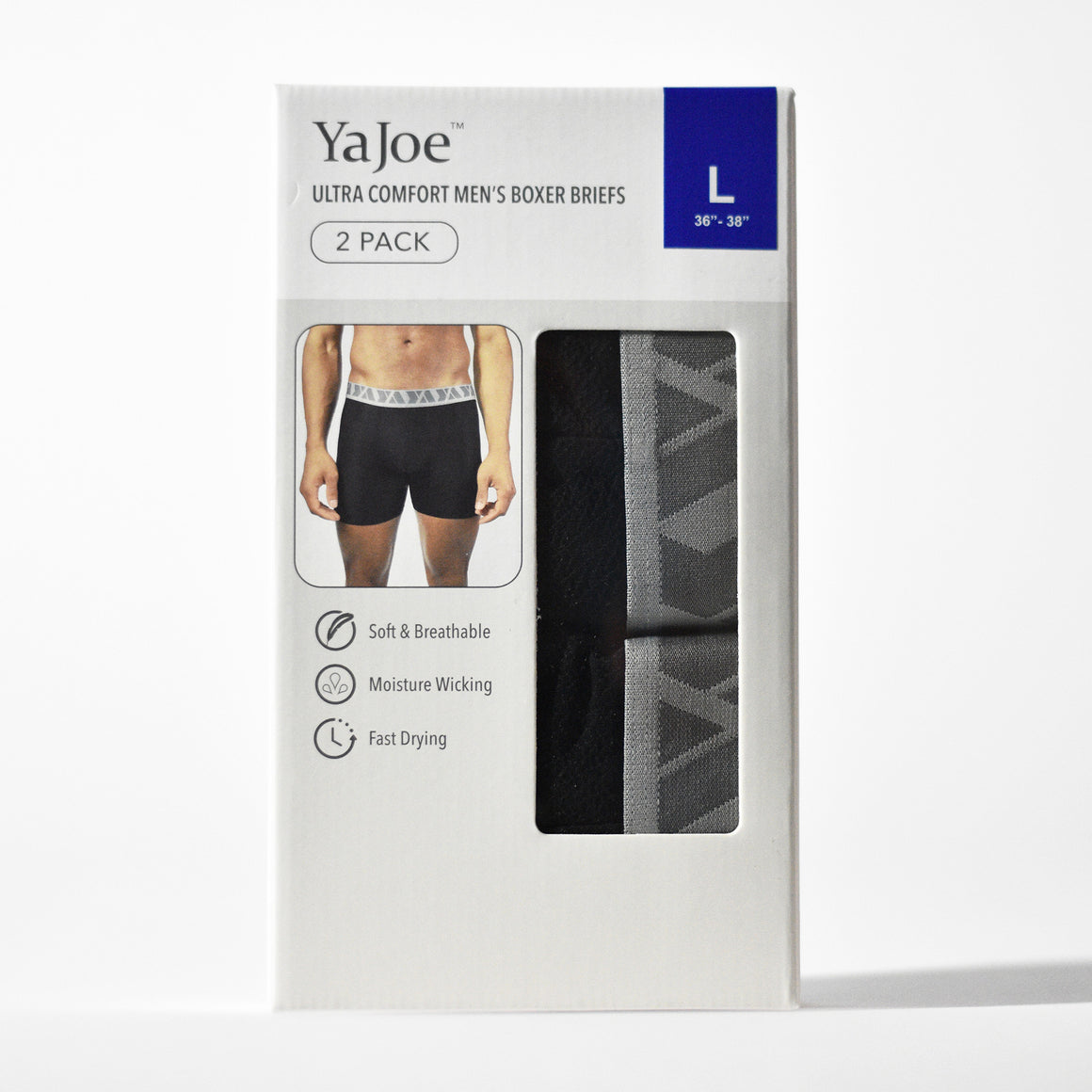 2-Pack Boxer Briefs