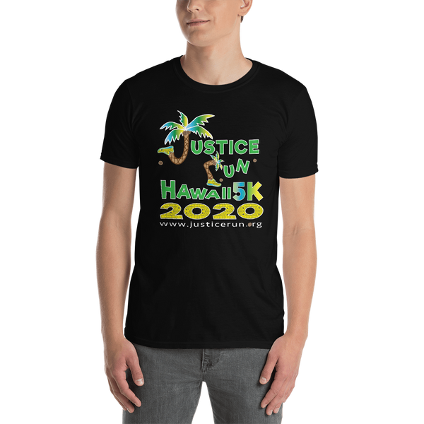 Justice Run Hawaii 2020 Adult T-Shirt