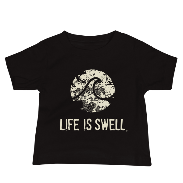 Life is Swell Logo Wave Baby Jersey Short Sleeve Tee