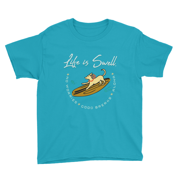 SURFDOG Life Is Swell Youth Short Sleeve T-Shirt